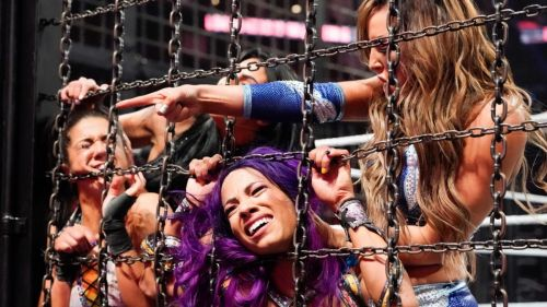 An incredible match led to the first ever Women's Tag champs in history