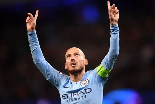 David Silva is one of the distinguished players who played for two of the Premier League's best managers