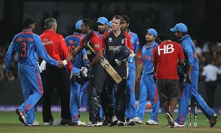 India Vs England Match