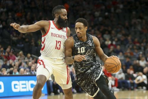Rockets vs Spurs is expected to be a possible playoff clash.