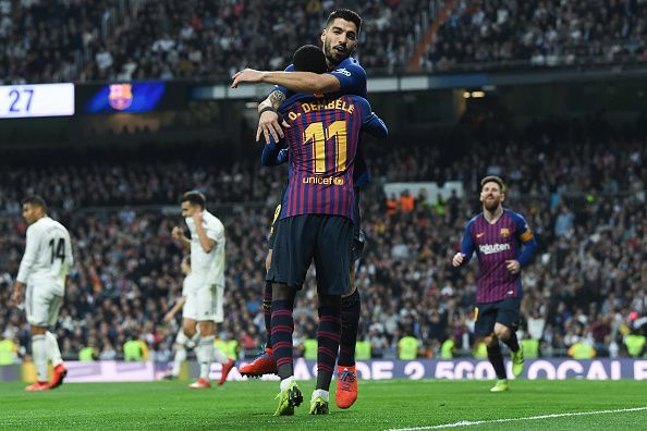Barcelona qualify for the Copa del final after beating Real Madrid 3-0