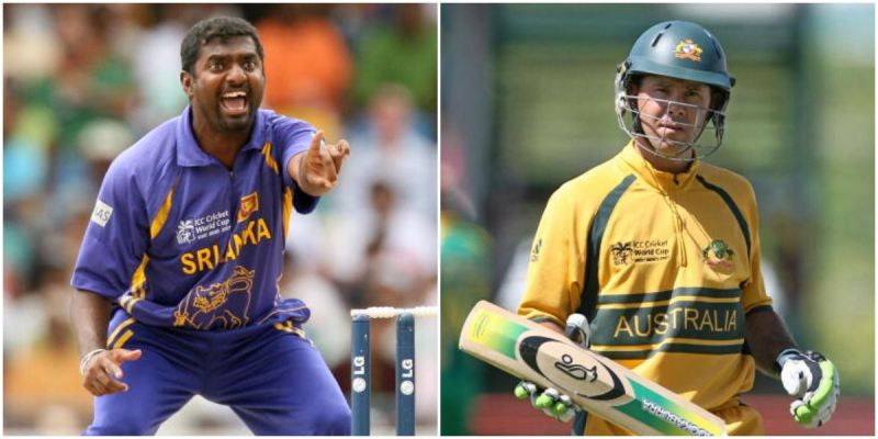 Muttiah Muralitharan and Ricky Ponting now feature on the Lord