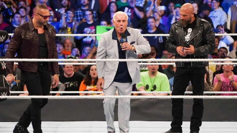 Ric Flair is beyond fired up to be back with Evolution.