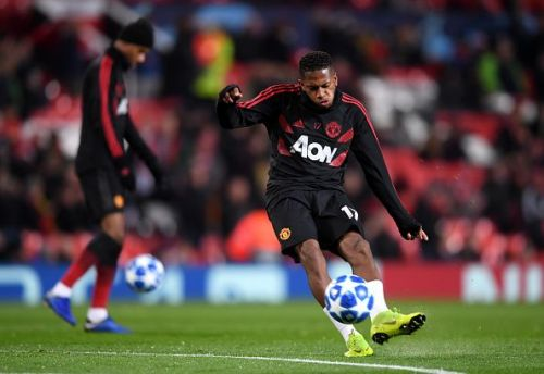 Fred has found life very difficult at Manchester United