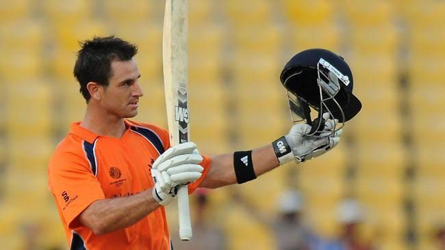 Ryan Ten Doeschate scored two centuries in the World Cup 2011, against Ireland and England.