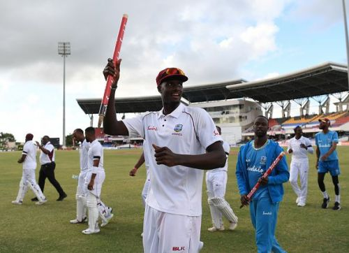 This series has established Jason Holder as a true leader