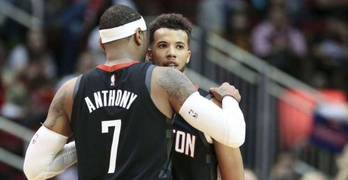 Carmelo Anthony and Michael Carter-Williams were traded to Chicago Bulls