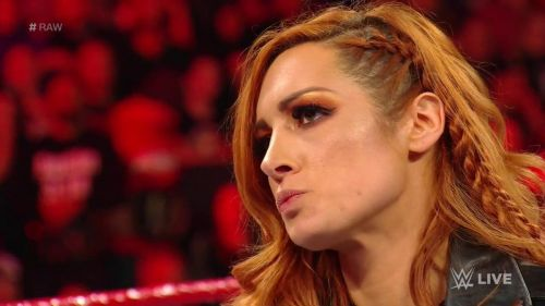 Becky Lynch got suspended for 60 days.