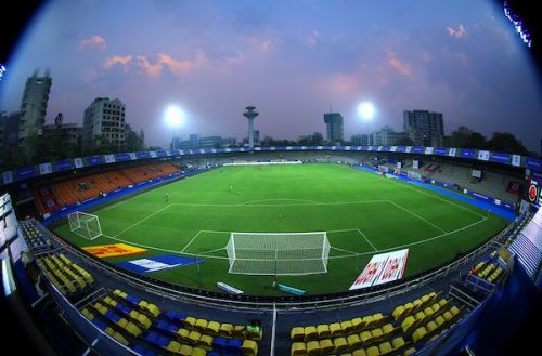 A general view of the Mumbai Football Arena (Andheri Sports Complex)