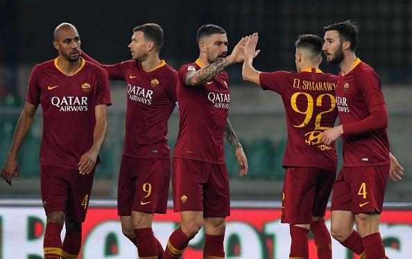Image result for AS Roma  football club 2018-19 season