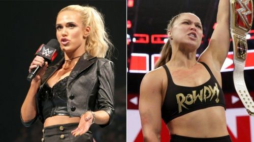 The Ravishing Russian picks a fight with the Raw Women's Champion.
