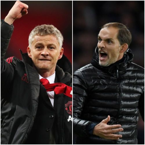 Ole Gunnar Solskjaer and Thomas Tuchel