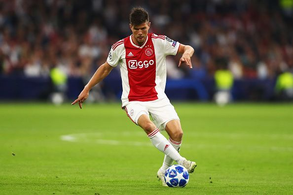 Klass Jan Huntelaar will face former club Real Madrid in the round of 16