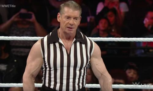 Vince McMahon was a guest referee three years ago in a match between Sheamus and Roman Reigns
