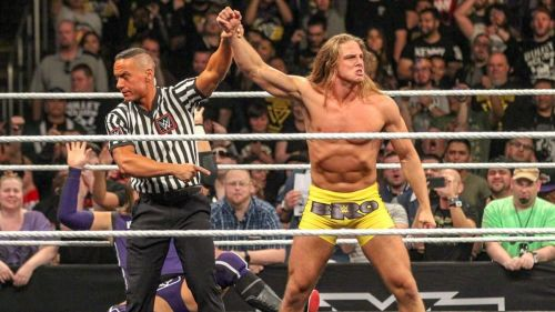 Riddle won his first ever TakeOver match in six seconds.