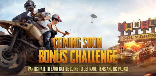 The best hunter among all will earn some battle coins to get the rare items and amazing UC PACKS