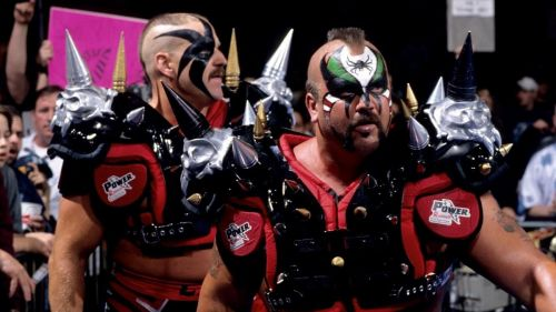 Hawk and Animal, the Road Warriors...what a ruuuuuush