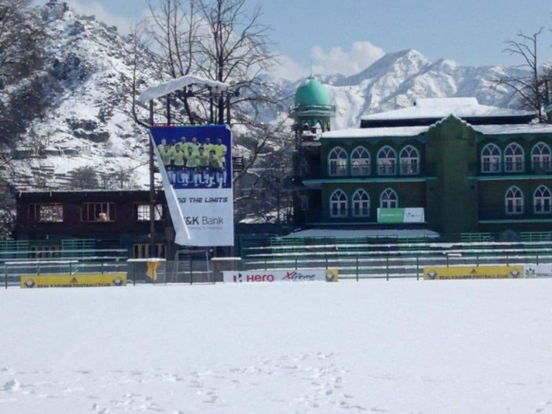 Real Kashmir FC is a possible title contender in the I-League
