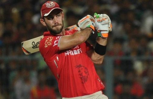 This was Maxwell's first match for Kings XI Punjab