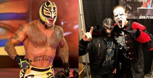 Rey Mysterio and Sting are good friends