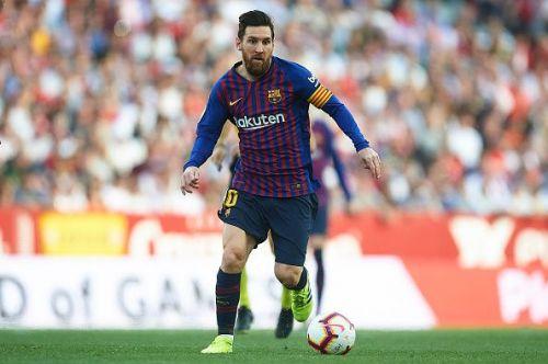 Sevilla FC v FC Barcelona - La Liga 2018/19