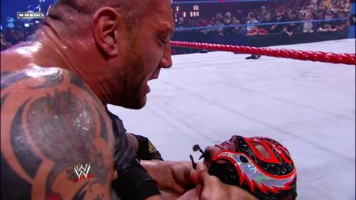 Batista snapped on Rey 10 years ago