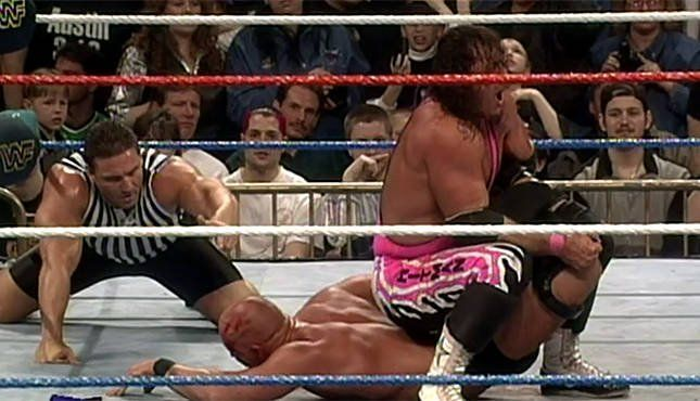 The Sharpshooter has been associated with Bret Hart since a long time