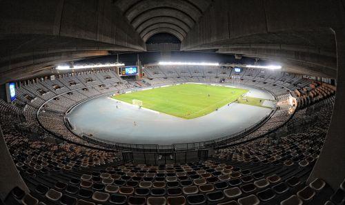 Zayed Sports City Stadium in Abu Dhabi