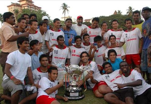 Air India last played in the I-League in the 2012-13 season
