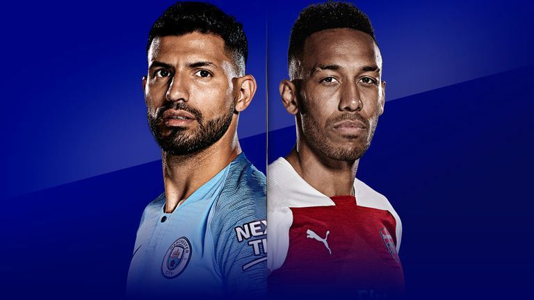 Sergio Aguero and Pierre-Emerick Aubameyang are two world-class strikers for each team