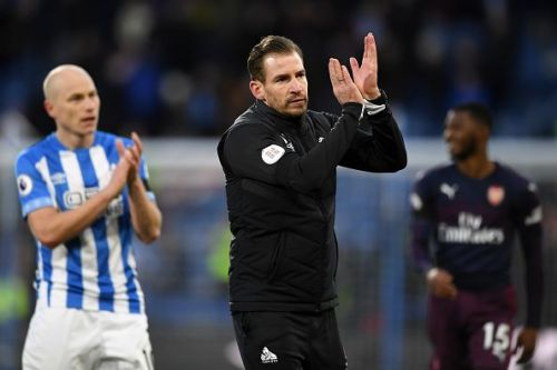 Huddersfield Town put in a spirited display