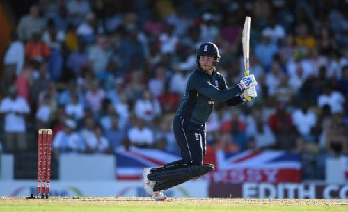 Jason Roy's century helped England chase down 360 against West Indies
