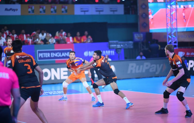 Amit Kumar was one of the young players of RuPay PVL