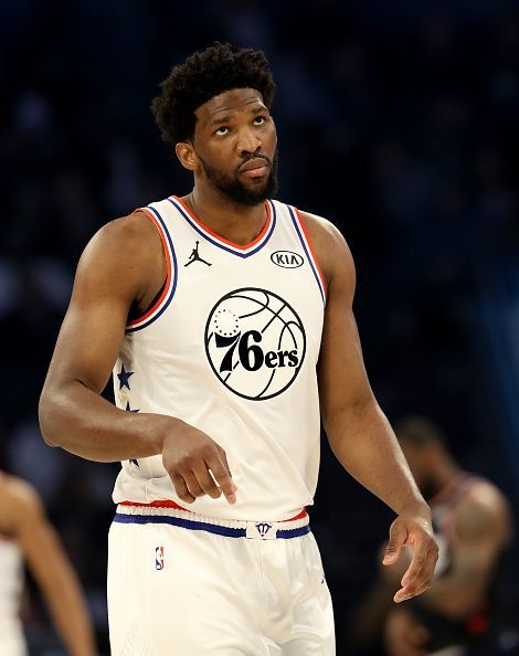 Embiid didn't have a good match