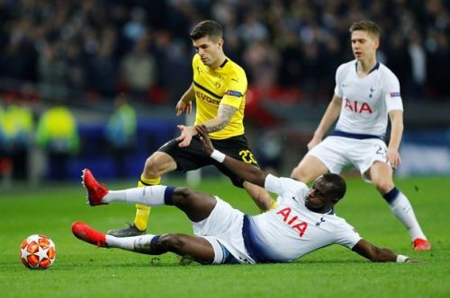 Moussa Sissoko and Harry Winks dominated the midfield for Spurs