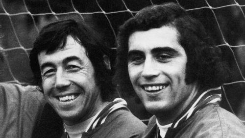 Gordon Banks and Peter Shilton
