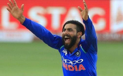 Ravindra Jadeja Will Replace Hardik Pandya in the 5 Match ODI Series