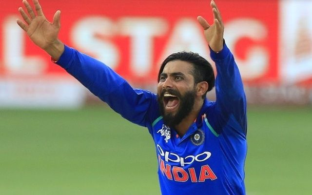 Ravindra Jadeja Will Replace Hardik Pandya in the 5 Match ODI Series