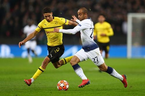 Hakimi had his moments, but ultimately failed to remain alert for two of Spurs' goals