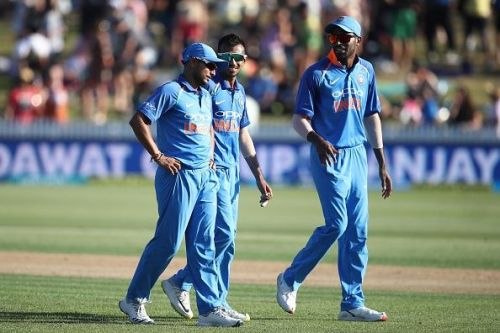 New Zealand v India - ODI Game 4