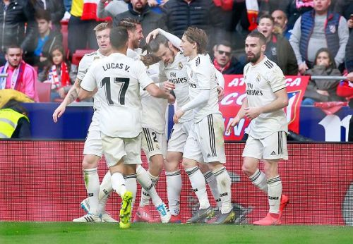 Real won the encounter 1-3