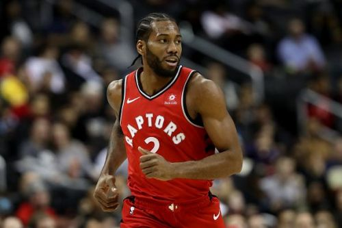 Kawhi Leonard has been looking like his old self with his new franchise