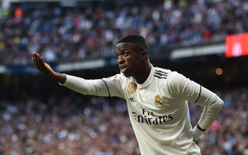 Vinicius Junior assisted Benzema for the opening goal of the game