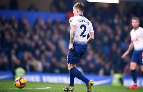 A comical own goal from Kieran Trippier helped to cost Spurs the match