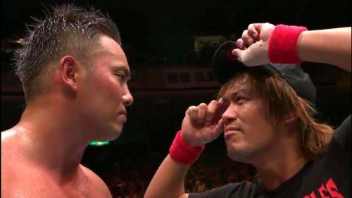Kazuchika Okada and Tetsuya Naito