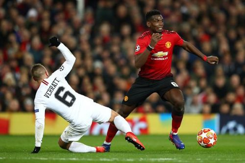 Manchester United lost 0-2 to Paris Saint-Germain in the UEFA Champions League Round of 16 first leg