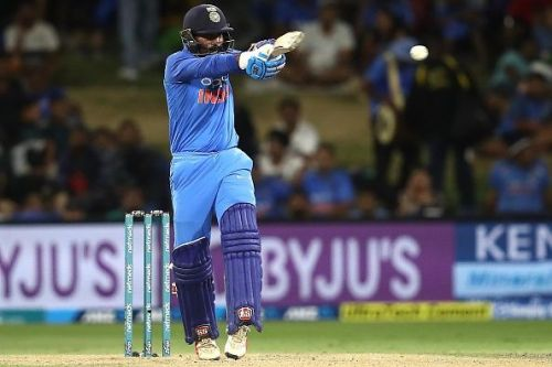 Dinesh Karthik declined a single during the last over of the match