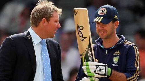Shane Warne and Ricky Ponting share a storied history together