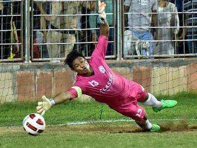 Lalit Thapa has previously played for FC Pune City