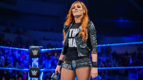 Becky Lynch invaded WWE's recent live event